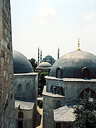 View of the Blue Mosque from the Aya Sofya (Haghia Sophia) in Sultanahmet