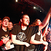 "Fans cheer as Alter Bridge performs on January 1st, 2011 in support of CD ""AB III""  at the Showbox Market in Seattle, Washington"