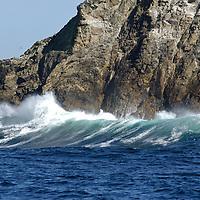 Farallon Islands.Great white shark diving paradise.San Francisco, California, United States