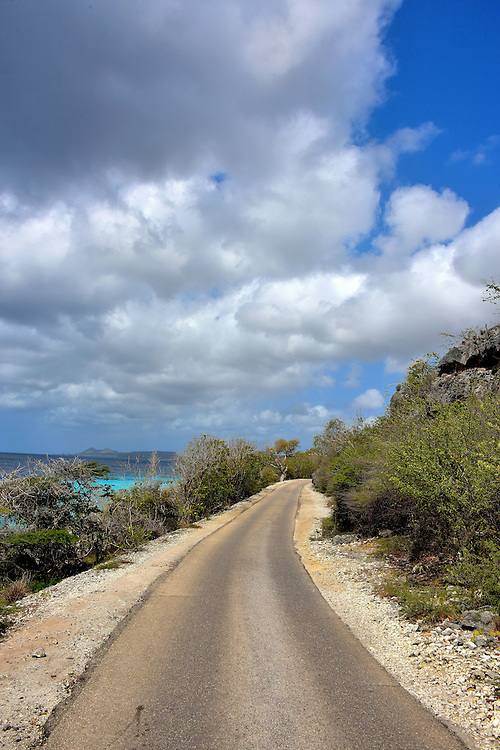 Queen&rsquo;s Highway North of Kralendijk, Bonaire<br />