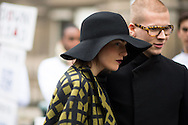Black Hat and Red Lipstick, Outside Dries Van Noten