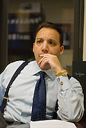 Star strategist Jason Trennert at his office in Manhattan,  New York City...Strategas Research Partners, LLC is a leading investment strategy, macro-economic, and policy research firm focused on providing timely and insightful research on the global equity and debt markets to the institutional investment community. The Firm was co-founded by Jason Trennert, Nicholas Bohnsack and Don Rissmiller, and employs research analysts and institutional salesmen at offices in New York and Washington DC..