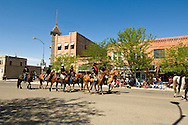 Little Big Horn Days parade, Hardin, Montana