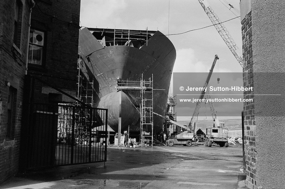 near Ferguson shipyard, Port Glasgow, Scotland, 1996
