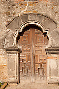 Chapel Door, Mission Espada, San Antonio, TX