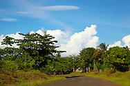 Road east of Moa, Holguin, Cuba.