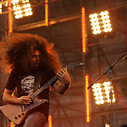 Claudio Sanchez of Coheed and Cambria at the 2013 Ansan Valley Rock Festival, South Korea.