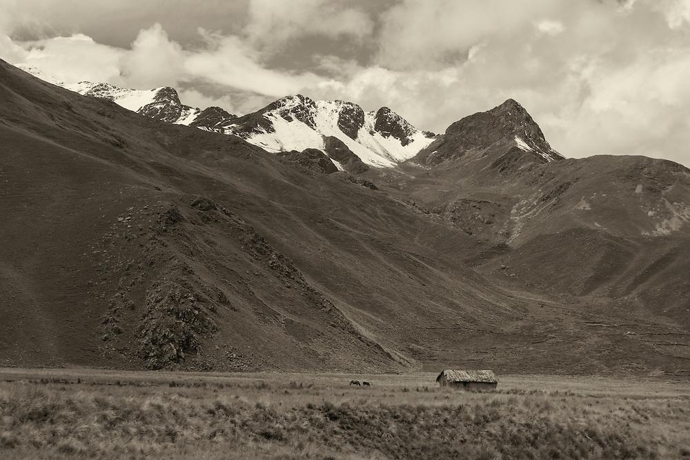 South America, Peru,Cuzco, Andes mountains, Altiplano