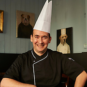 Lisboa, 09/03/2016 - O chef Xavier Charrier do Restaurante franc&ecirc;s  La Parisienne no Chiado.<br /> (Paulo Alexandrino / Global Imagens)