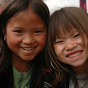 Smiling children. Sapa, Vietnam