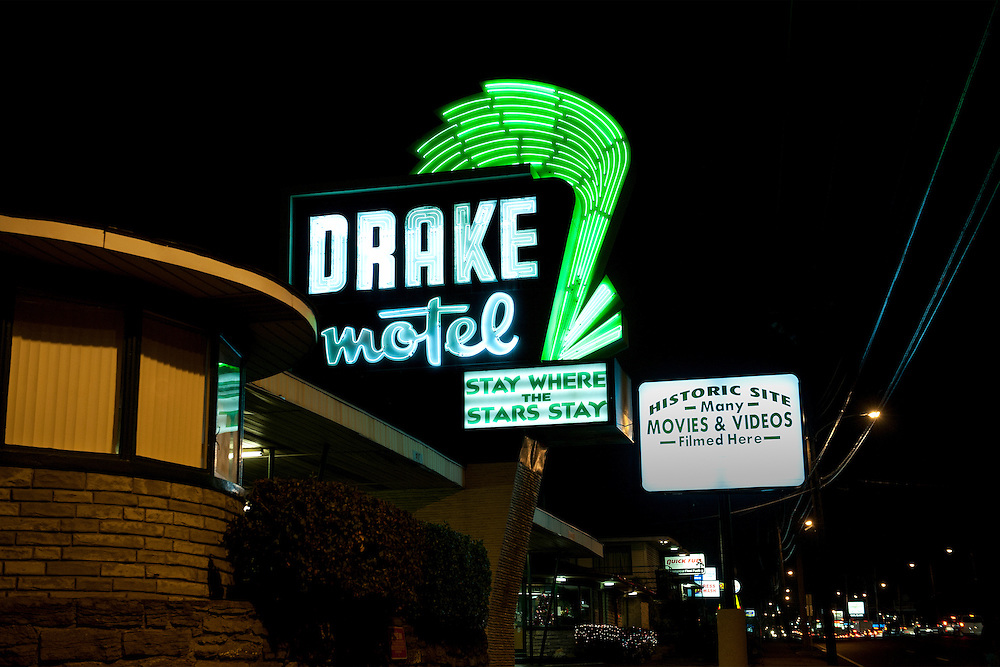 Historic Drake Motel, Nashville, Tennessee