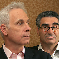 """""""For Your Consideration"""" director Christopher Guest and Eugene Levy are seen at the Ritz Thursday,  November 9, 2006."""