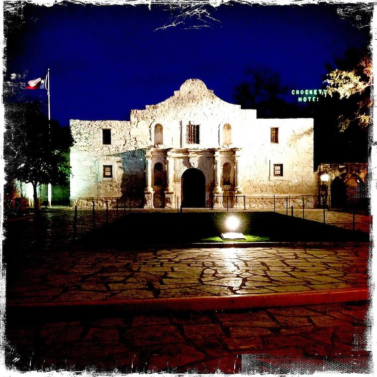 The Alamo - San Antonio, Texas