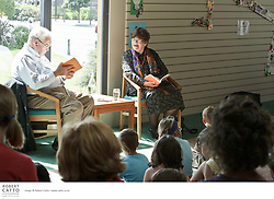 Young writers and readers enjoy a magical hour of story and conversation with Joy Cowley, one of our most celebrated writers.