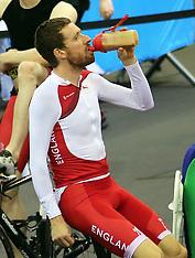 JUL 22 2014 Bradley Wiggins in training on eve of Commonwealth Games