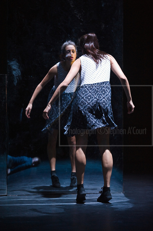 Wellington, NZ. 14.05.2013. AND THEN IT MOVED, the New Zealand School of Dance's Choreographic Season. Te Whaea Theatre, Wellington. 15 to 25 May 2013. Ten choreographers present new works of brave and inventive dance. Photo credit: Stephen A'Court.  COPYRIGHT ©Stephen A'Court