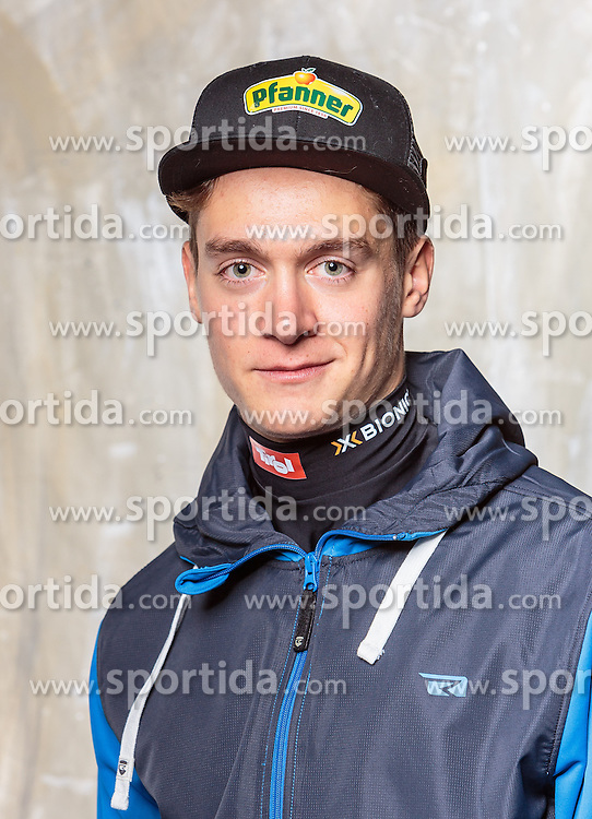08.10.2016, Olympia Eisstadion, Innsbruck, AUT, OeSV Einkleidung Winterkollektion, Portraits 2016, im Bild Luca Hämmerle, Snowboard, Herren // during the Outfitting of the Ski Austria Winter Collection and official Portrait Photoshooting at the Olympia Eisstadion in Innsbruck, Austria on 2016/10/08. EXPA Pictures © 2016, PhotoCredit: EXPA/ JFK