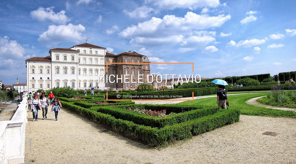 Giardini della Reggia di Venaria (Torino) dichiarata dall'Unesco Patrimonio Mondiale dell'Umanità