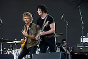 Friday, August 1, 2008; The Raconteurs performs at Lollapalooza 2008..Photo by Bryan Rinnert
