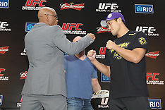 August 25, 2011: UFC 134 in Rio - Final Press Conference