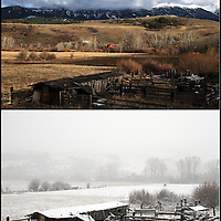 Late winter in Bozeman, MT