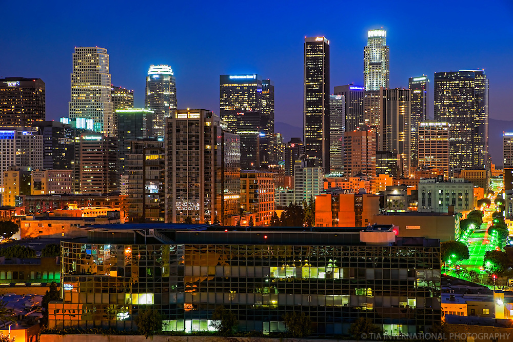 Los Angeles Skyline @ Daybreak