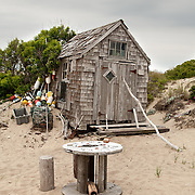 Small and funky, the Sasha shack is one of 18 scattered through the dunes of Provincetown.