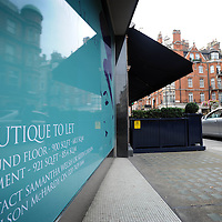 UK. London. Mayfair, the heart of London's banking and Hedge Fund business.