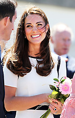 JUN 10 2014 Duchess of Cambridge at National Maritime Museum