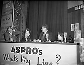 1955 - 31/01 'What's my Line' Panel in Ireland