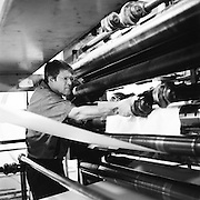 """Not bad for a 40-year-old press. It's still going strong,"" said Larry Koffler, a 34-year veteran of the press. The old press of the Statesman Journal is about to go dark. Newspapers will no longer be printed on-site in Salem."