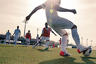 Barcelona, Spain, August 21 of 2012:  The Chance players during the second day of tests at F.C. Barcelona training field. (photo: Caio Guatelli)