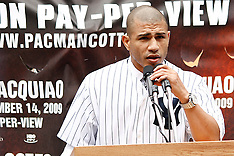 September 10, 2009: Manny Pacquiao vs Miguel Cotto Press Conference