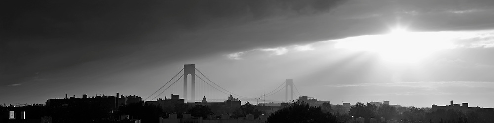 Evening in New York City.