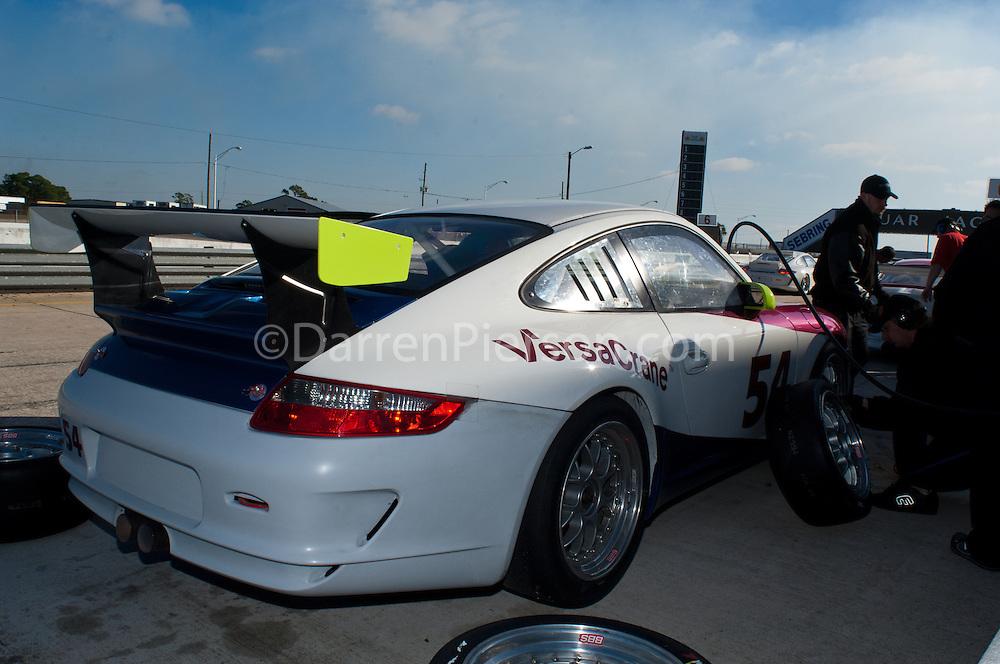#54 Wright Motorsports VersaCrane Porsche GT3: Mitch Landry