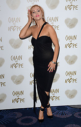 Anya Garnis attends The Chain Of Hope Ball at The Grosvenor House Hotel on Friday 21st November 2014