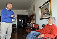 Andrea Matarazzo conversa com o ex-presidente Fernando Henrique sobre as eleições em São Paulo.