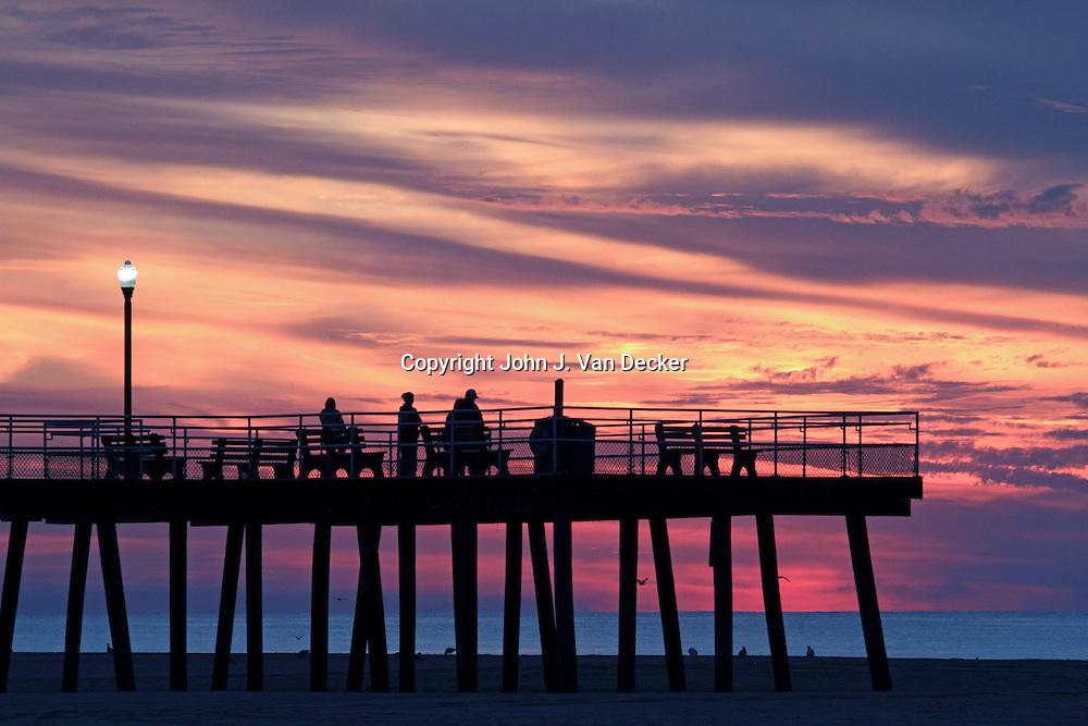 Dawn expectations john van decker photography for Fishing wildwood nj
