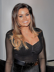 Jessica Wright attends launch party of Fuzzy Banter a new dating app which keeps users faces blurry untill they choose to reveal themselves to their matches. Held at La Sala, Chigwell Road, Essex on Monday 16 March 2015