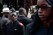 New York, NY-August 13-  FOI Security at the Millions March in Harlem with keynote speaker Hon. Louis Farrakhan held at the corner of West 110th and Lenox Avenue in Harlem on August 13, 2011 in New York City. Photo Credit: Terrence Jennings