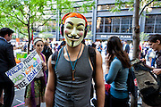Photos were taken during the March on Wall Street in support of the protestors in Zuccotti Park in Lower Manhattan.