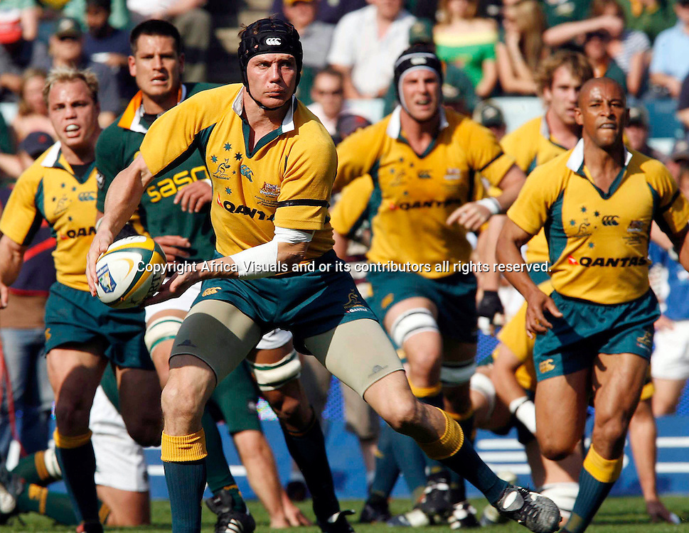 09/09/2006 Tri-Nations South Africa vs Australia at Ellis Park rugby Stadium- Springboks won  24-16 Stephan Larkham