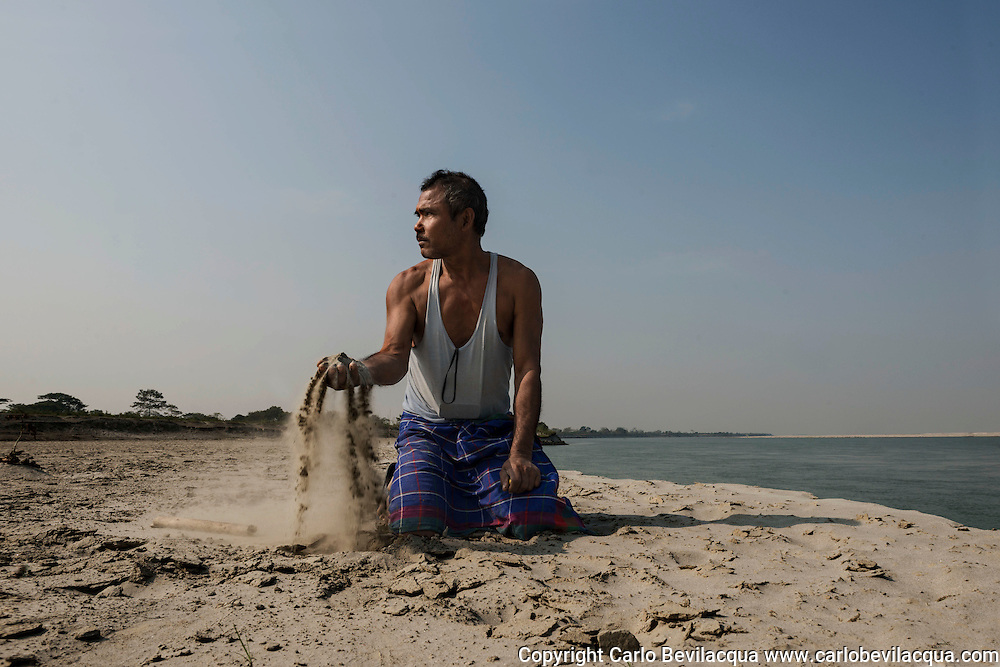 Jadav Mulai Paleng The Forest Man<br /> The story of Jadav Payeng Mulai could be the one told by the French writer Jean Giono in his book The Man Who Planted Trees.In fact he has planted a tropical forest of 1500 hectares on a sandbar in the heart of the Brahmaputra River which had been devastated by floods in 1979 , when Mulai was 16 years old. Trees, houses and villages were overwhelmed and taken away by the water. Many animals, snakes in particular, died. Mulai found them lifeless on the sand banks. It was the turning point of his life. He started planting bamboo trees on behalf of the forestry division. He has never stopped, choosing to plant trees, bringing animals and insects from his village and transforming the whole area into a real forest populated by birds and deer which in turn have attracted predators such as vultures and tigers, and even elephants and rhinos, which migrate from the nearby Kaziranga park.Jadav Mulai has been repeatedly awarded accolades for his efforts.Today, the inhabitants of the villages near the forest are proud of the work that has been done but the early years were not easy for Mulai. In fact, after some elephants destroyed a village many people blamed Mulai for what had happened and he had to ask for help and protection from the forest department .Now the forest is known by the name of &ldquo;Mulai Forest or Mulai Kathoni&rdquo;. Jadav Payeng belongs to the ' Mising ' tribe and today lives in Kokilamukh , a village near the river Bramhaputra in the district of Jorhat , Assam. This  state in North East India is where he dwells in a small hut which he shares with his wife Binita and their three children but he spends most of his time in the forest. Mulai knows each single tree and every path. He treats the forest with the affection and respect reserved for one&rsquo;s offspring.Today his new goal is to recommence a second bio diverse forest in another sand bar island in the Brahmaputra Area and teach the world the priceless heritag