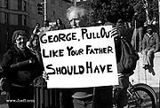 Antiwar demonstration, Washington D.C. 1991