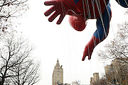 25 November 2010- New York, NY- Spider-Man Balloon at The Macy's 84th Annual Thanksgiving Day Parade held along Central Park West on the UpperWest Side of New York City on November 25, 2010 in New York City. Photo Credit: Terrence Jennings