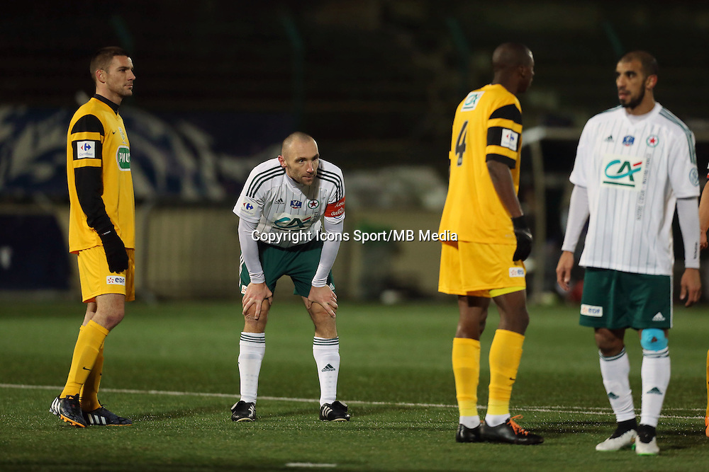 Samuel ALLEGRO - 23.01.2015 - Red Star / Marseille Consolat - Coupe de France<br /> Photo : Sebastien Muylaert / Icon Sport