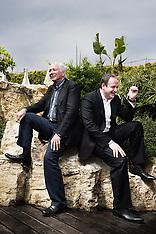 Marc Dorcel et son fils Gregory (Cannes, Mai 2010)
