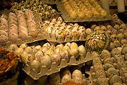 Austria, Salzburg, hand painted eggs