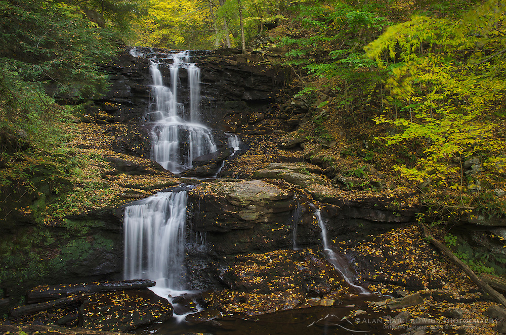 Tuscarora Falls, Ricketts Glen State Park, Pennsylvania