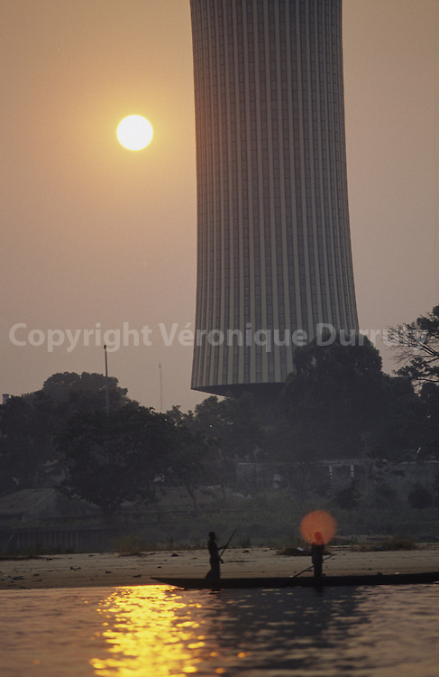 NABEMBA TOWER NEAR CONGO RIVER, BRAZZAVILLE, CONGO